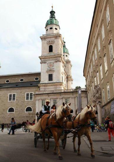 Old Town in Salzburg